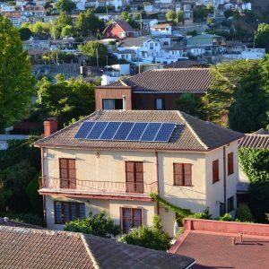 Paneles solares intalados